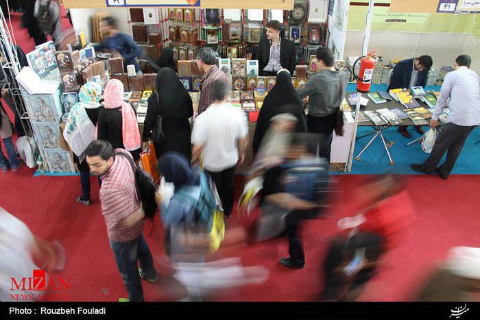resized 1625117 616 عکس/ نهمین روز نمایشگاه بین المللی کتاب