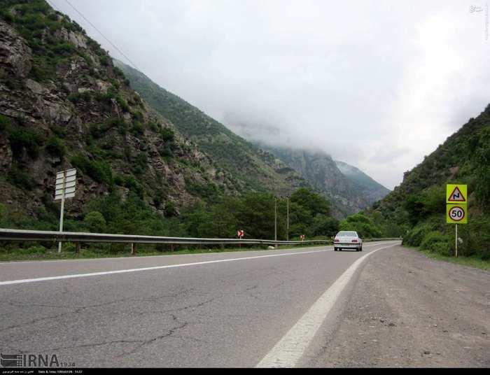 مناطق توریستی ایران عکس ایران جاده چالوس اخبار چالوس Chalus Road