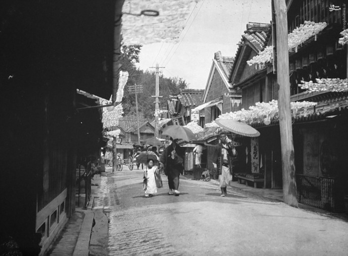 عکس قدیمی عکس ژاپن زندگی در ژاپن