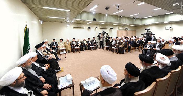 resized 1654767 103 عکس/ دیدار افراد مجلس خبرگان با رهبرانقلاب
