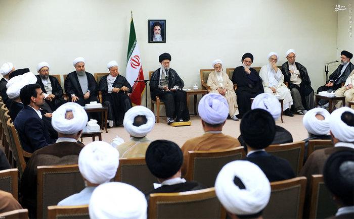 resized 1654771 221 عکس/ دیدار افراد مجلس خبرگان با رهبرانقلاب