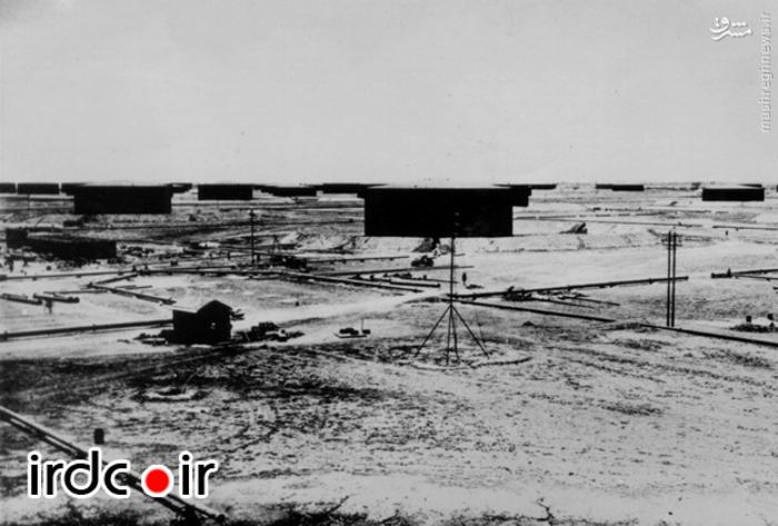 نخستین تاسیسات نفتی در جنوب ایران