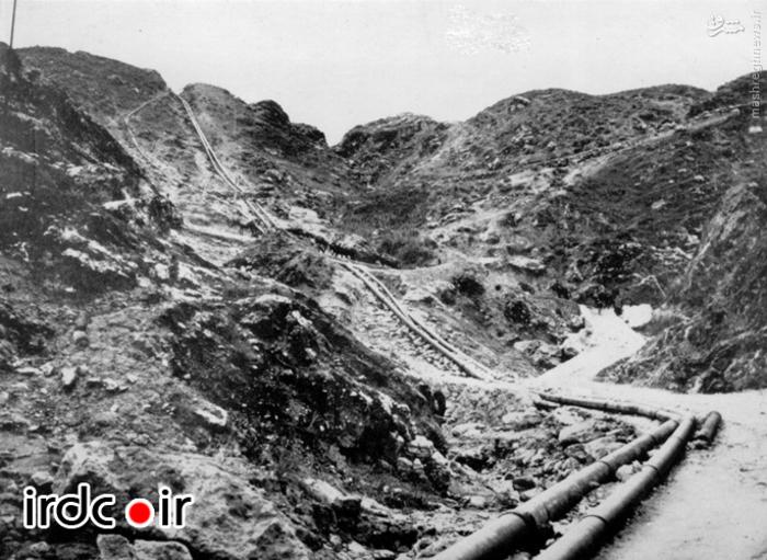 اولین خطوط لوله انتقال نفت