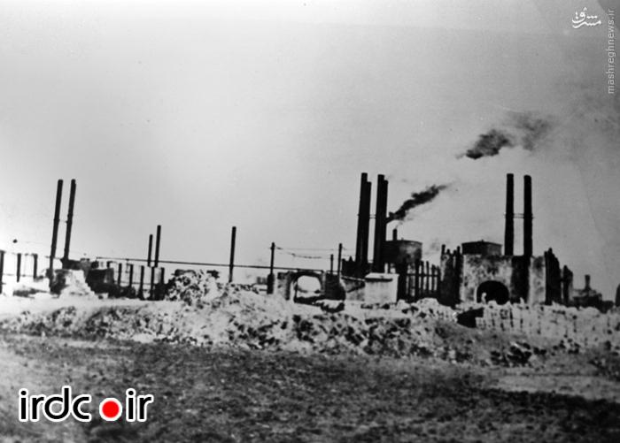 نخستین تاسیسات نفتی در ایران