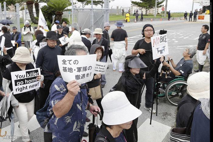 resized 1663210 511 عکس/ خشم ژاپنیها از سربازان متجاوز آمریکایی