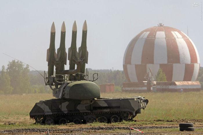 سامانه موشکی پدافند هوایی