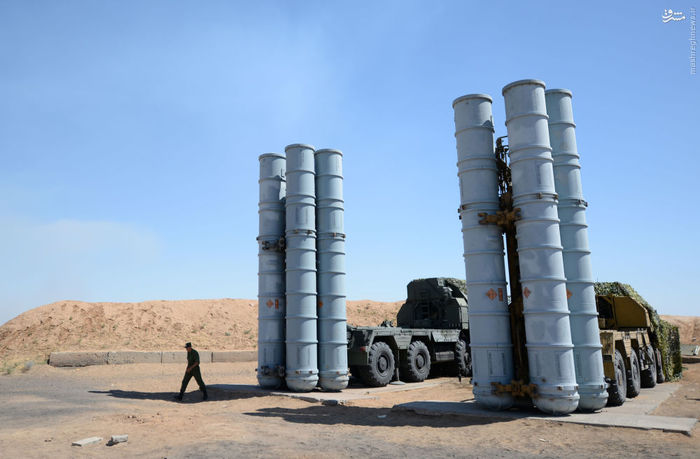 سامانه موشک پدافند هوایی اس 300