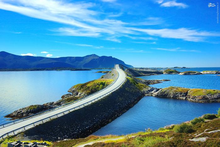 تصاویر: اتوبانی خارق العاده در نروژ, اتوبان قشنگ, اتوبان شگفت انگیز, اتوبان جالب, اتوبان جالب