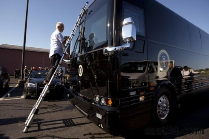 اتوبوس اوباما امن ترین اتوبوس دنیا