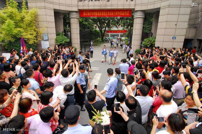 تصاویر: کنکور سراسری در چین
