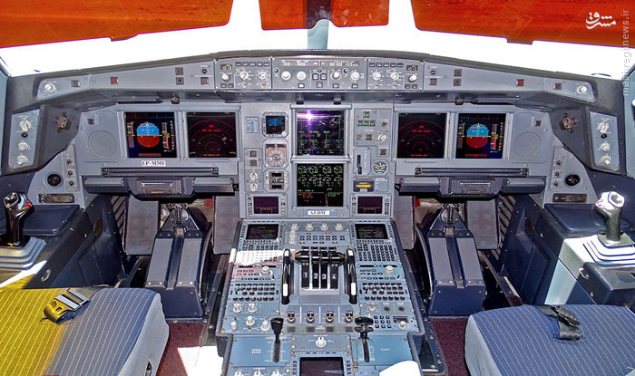 تصاویر: مدرن ترین هواپیمای مسافربری ایران