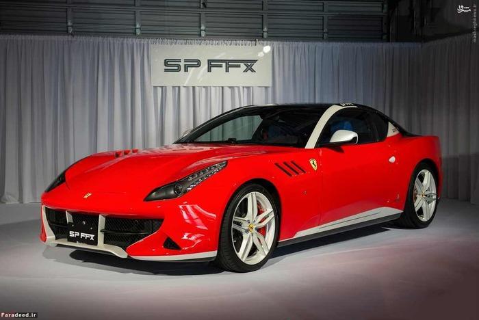 ششمین تولید سفارشی فراری SP FXX نام دارد که برای یک کلکسیونر ژاپنی به نام شین اوکاموتو Shin Okamoto با هزینه تقریبی 3 میلیون دلار و بر اساس مدل FF در سال 2014 ساخته شد. علاوه بر این فراری، چندین خودروی گران قیمت دیگر از جمله یک مک لارن F1 به ارزش 14 میلیون دلار نیز در گاراژ این تاجر ژاپنی وجود دارد.