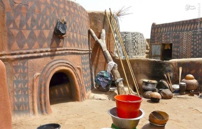 روستای گردشگری دکوراسیون خلاقانه دکوراسیون خانه تزیین خانه بورکینافاسو
