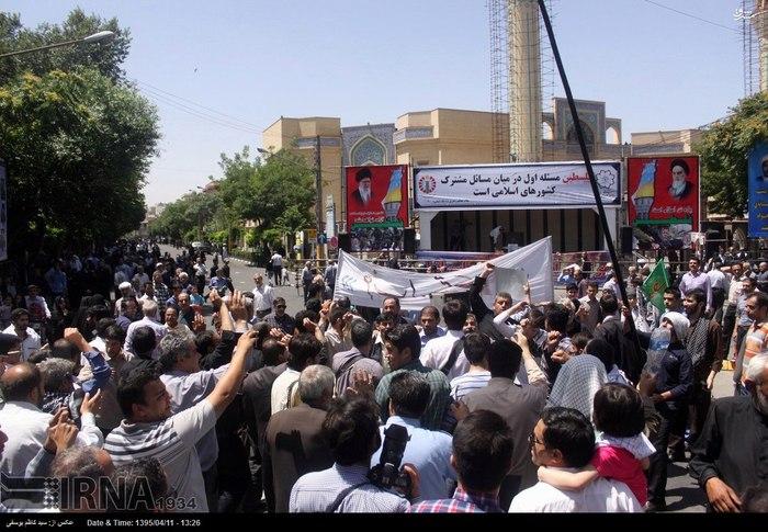 راهپیمایی روز جهانی قدس در تبریز