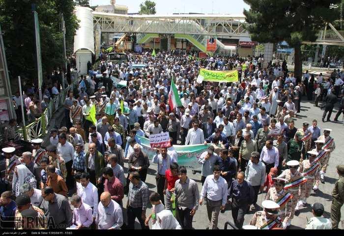 راهپیمایی روز جهانی قدس در بروجرد