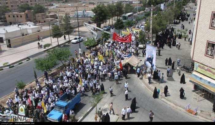 راهپیمایی روز جهانی قدس در سمنان
