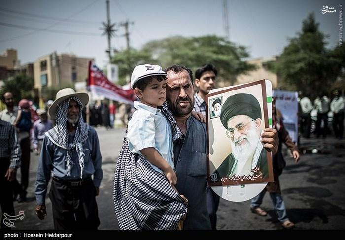 راهپیمایی روز جهانی قدس در بوشهر