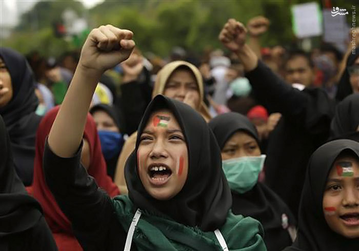 راهپیمایی روز جهانی قدس در اندونزی