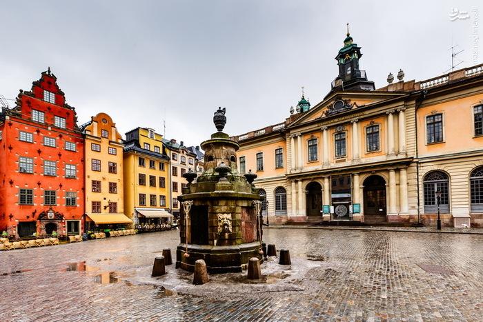 عکس زیبا از استکهلم پایتخت سوئد