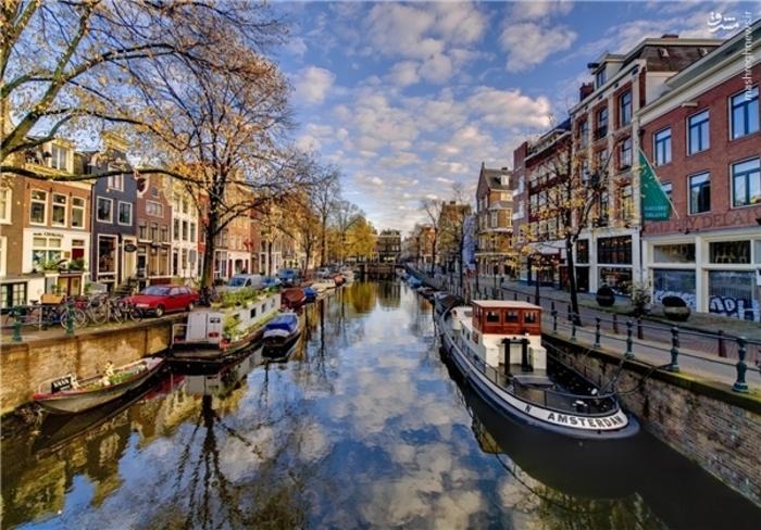 13- آمستردام – 8 میلیون گردشگر
