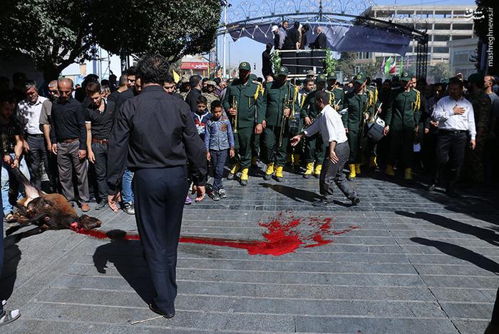 فیلم وداع پدر شهید سجاد حسینی عکس/ تشییع پیکر شهید مدافع حرم محمد پورهنگ در شهر ری