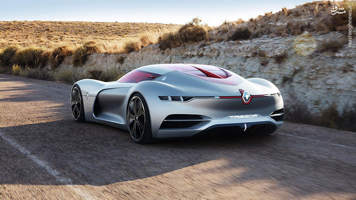 مدل مفهومی خودروی خودران و الکتریکی پیشرفتهای به نام ترزور