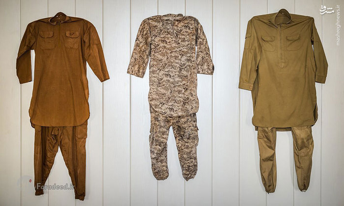 لباس رزم داعشیها