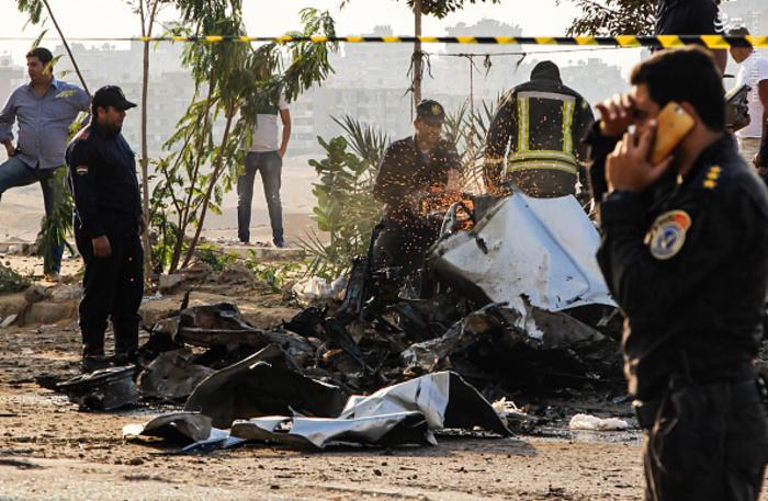 انفجار تروریستی و خودرو بمب گذاری شده در قاهره +عکس