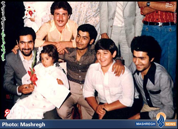 حسن طهرانی مقدم(نفر اول از راست)