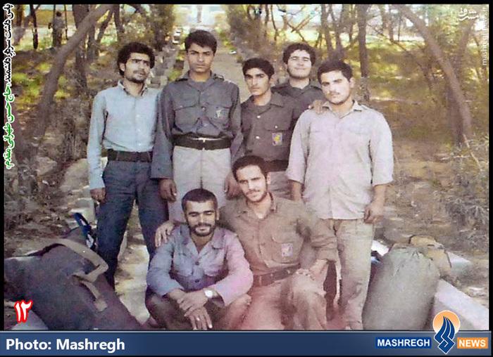 حسن طهرانی مقدم(ایستاده - نفر اول از چپ )