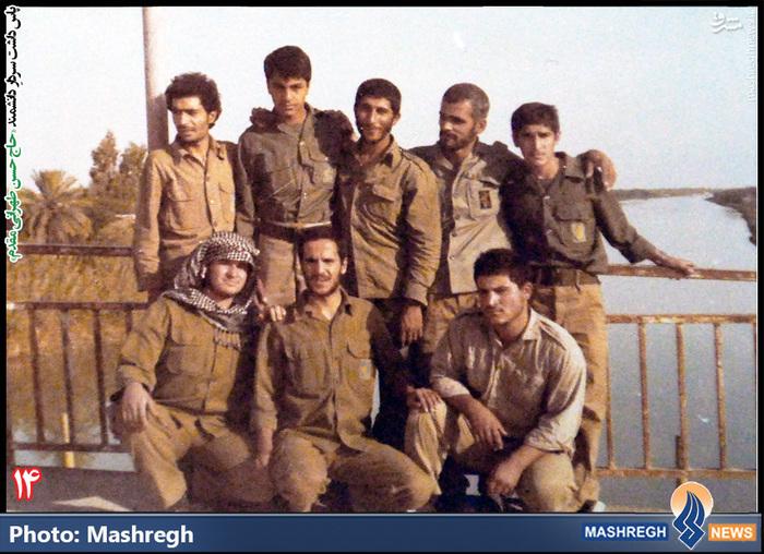 حسن طهرانی مقدم (ایستاده - نفر اول از چپ )