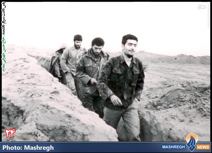 حسن طهرانی مقدم (نفر اول ستون )