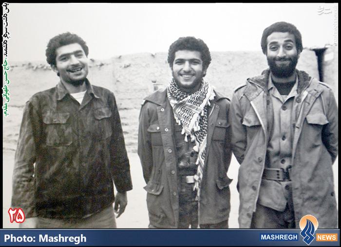 حسن طهرانی مقدم (نفر اول از چپ )