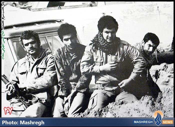 حسن طهرانی مقدم (نفر دوم از چپ )