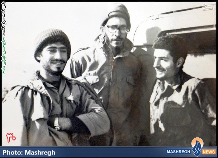 حسن طهرانی مقدم (نفر سمت راست )