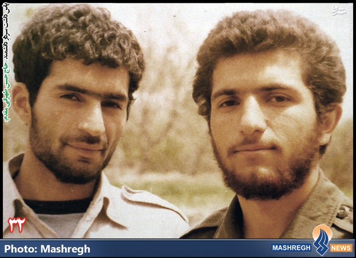حسن طهرانی مقدم (نفر سمت چپ )