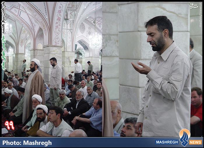 2 نما از حاج حسن طهرانی مقدم در «مسجد جمکران»