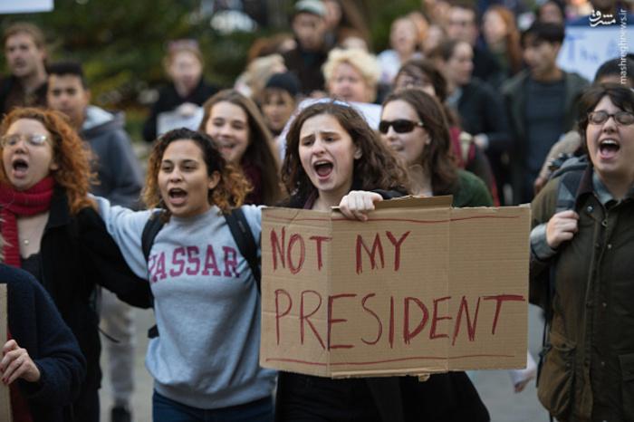 تظاهرات آمریکا, شورش در آمریکا, تظاهرات ضد ترامپ, آشوب در آمریکا