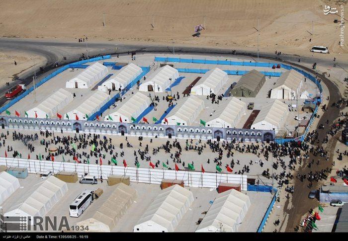 مرز مهران عکس اربعین حسینی شهرستان مهران راهپیمایی اربعین حسینی پیاده روی اربعین