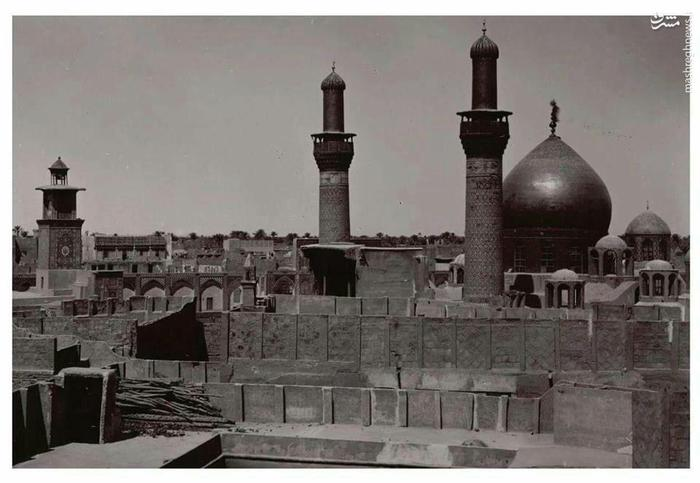 ضريح امام حسين (عليه السلام) در سال 1907 میلادی