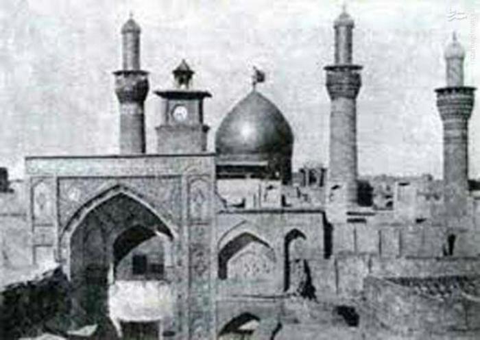 حرم امام حسین (عليه السلام) در سال 1935 میلادی