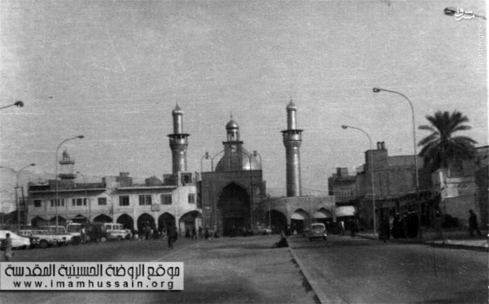 بارگاه امام حسين (عليه السلام) در سال 1935 میلادی
