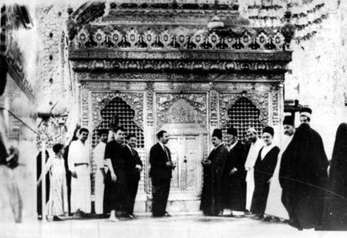 مرقد امام حسين (عليه السلام) در سال 1935 میلادی