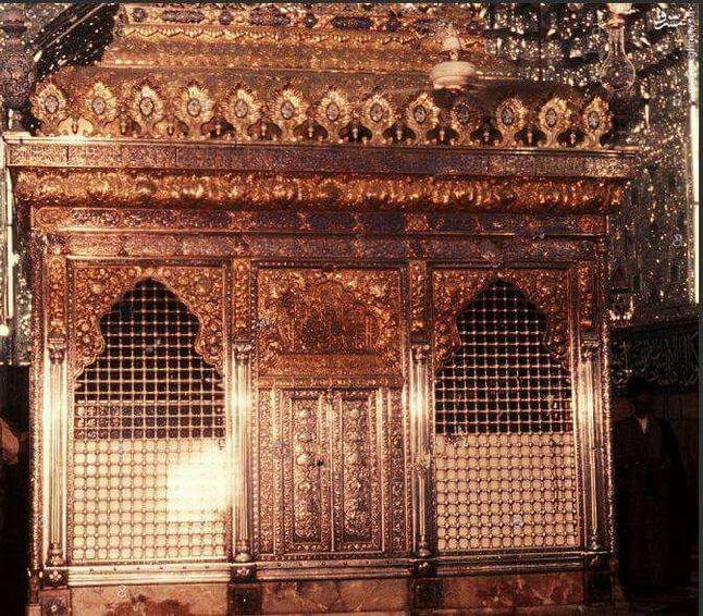 تصویری از مرقد حضرت ابالفضل العباس در سال 1989 میلادی