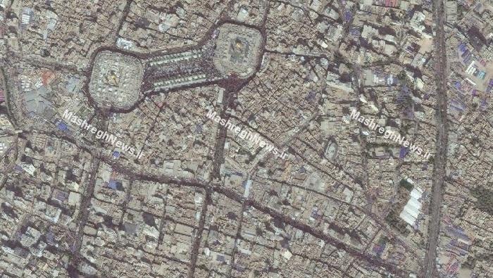 این تصاویر، بین الحرمین و خیابانهای اطراف را در فاصله 5 روز مانده به اربعین حسینی نشان میدهد.