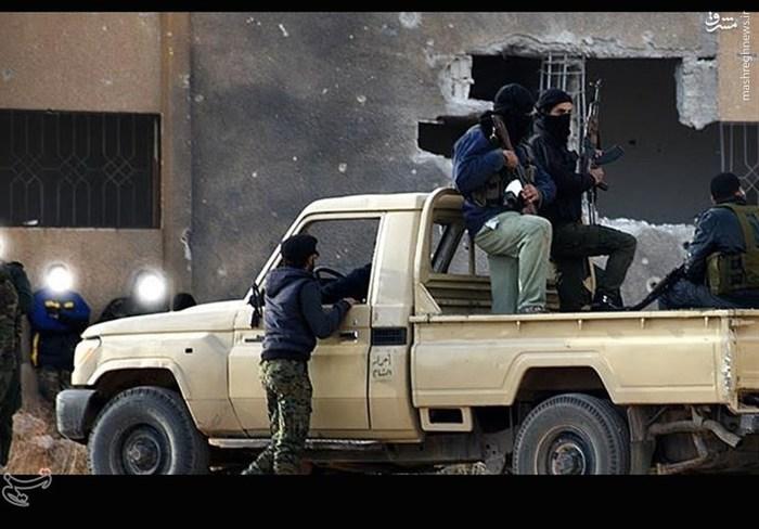خروج تروریست ها از زاکیه و خان الشیح