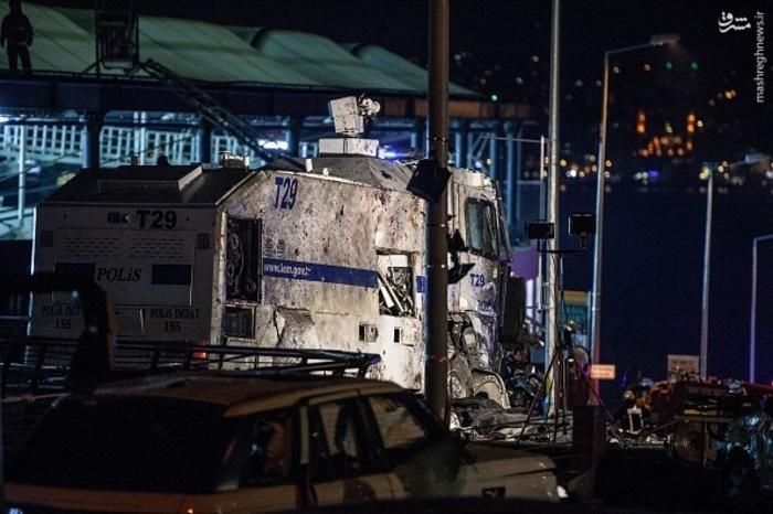 انفجار مرگبار در استانبول , انفجار در استانبول, ورزشگاه وودافون آرنا , وقوع انفجار در استانبول