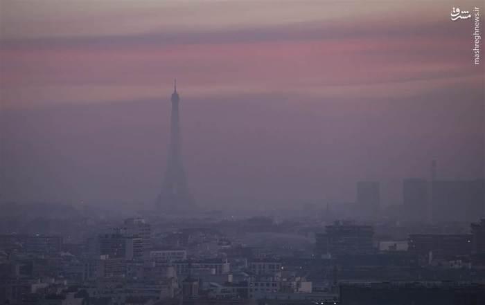 ثبت رکورد بیشترین میزان آلایندهها در هوای پاریس طی دهه اخیر