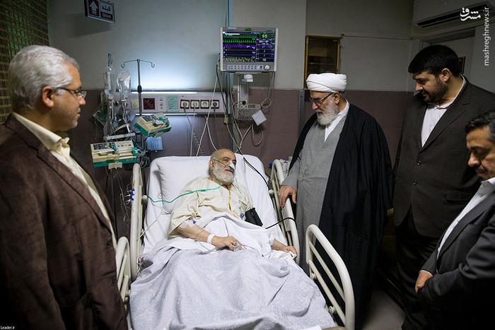 بستری شدن قرائتی در بیمرستان  , عکس قرائتی در بیمارستان , قرائتی در بیمارستان,  بیوگرافی محسن قرائتی