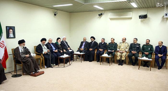 دیدار اعضای ستاد بزرگداشت شهدای استان گلستان با رهبر انقلاب /تصاویر